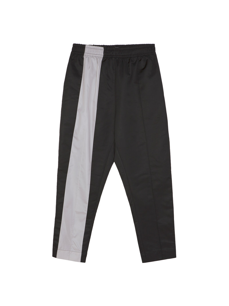 SHOOP GEMINI NYLON PANTS BLK Front