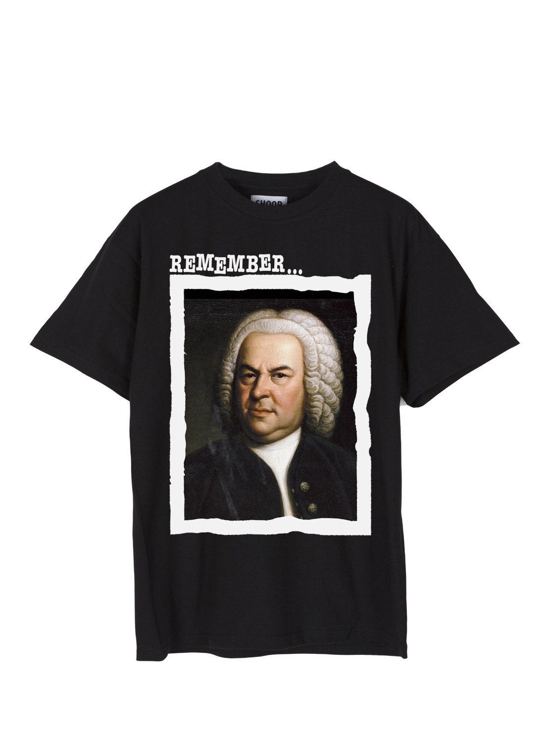 SHOOP SS17 Bach Tour Tee Front