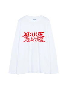 SHOOP x Sullen Adulte Player Long Tee White Front