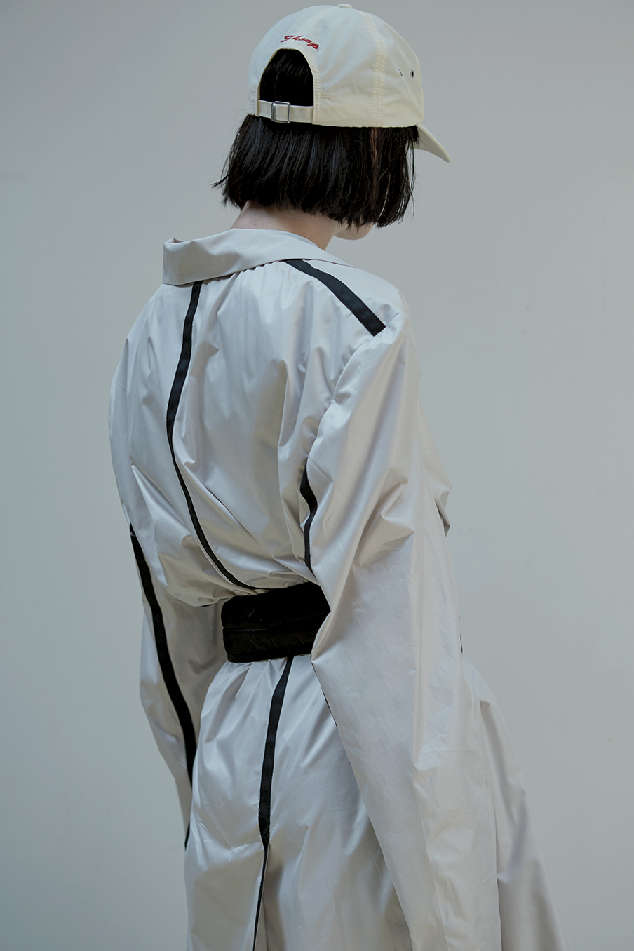 Overlapping Jacket Front