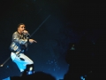Drake wearing Mesh Sweatpants on OVO Fest 2013
