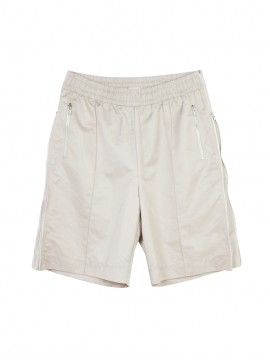 SHOOP NYLON ZIPPER SHORTS Front