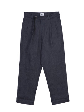 SHOOP DENIM WIDE PANTS Front