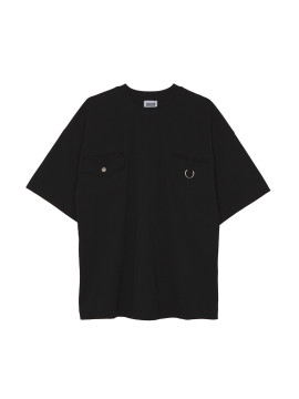 SHOOP KEY RING OVERSIZED TEE Black