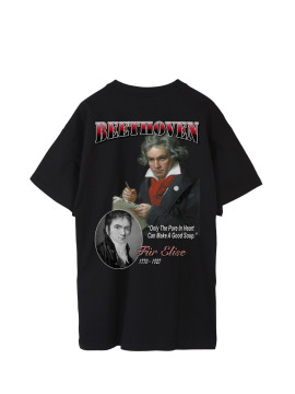 SHOOP SS17 Beethoven Tour Tee Back