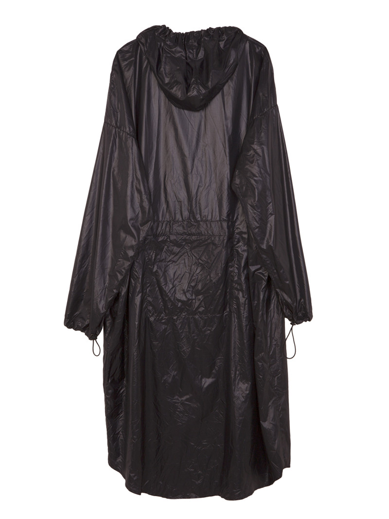 shoop SHADOW LONG RAINCOAT back