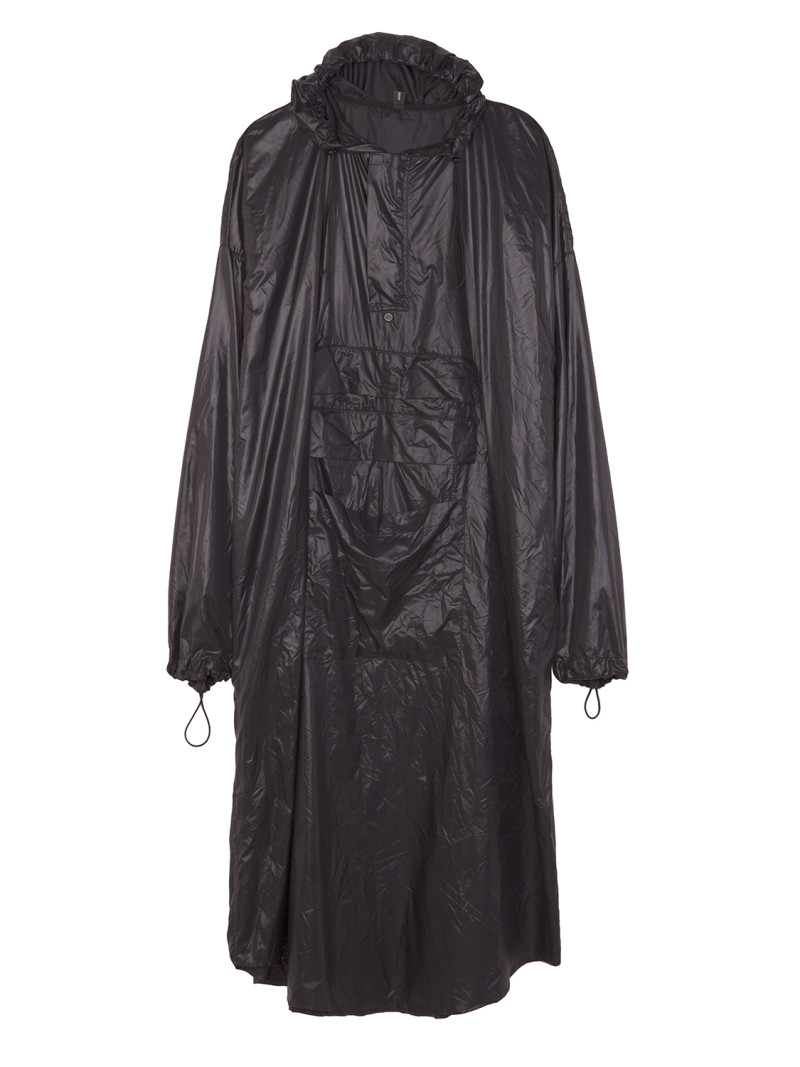 shoop SHADOW LONG RAINCOAT front
