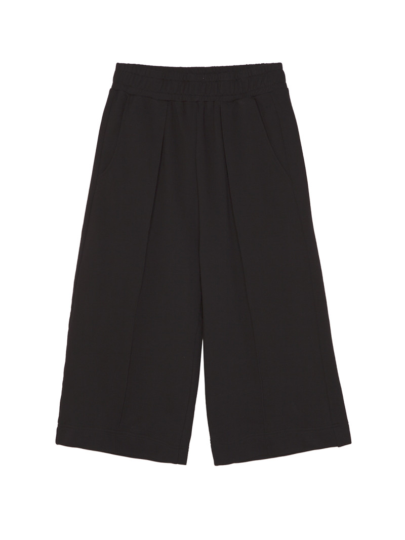 SHOOP OVERSIZED PANTS BLACK Front
