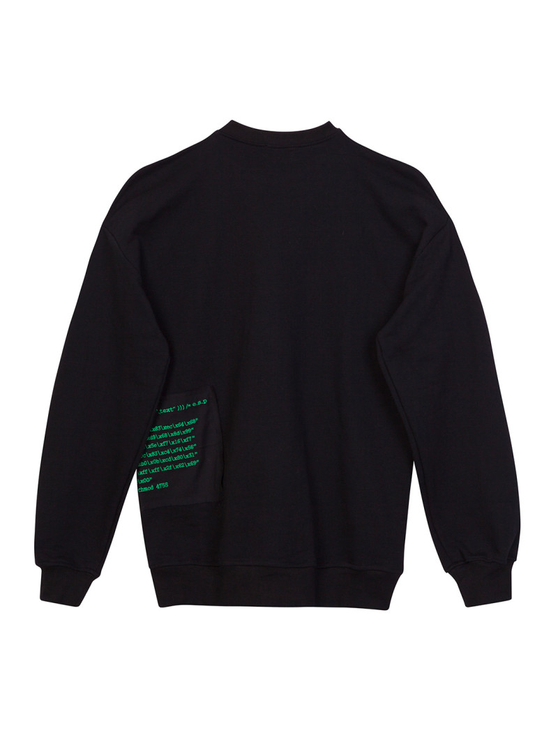 CODE PATCH SWEATSHIRT
