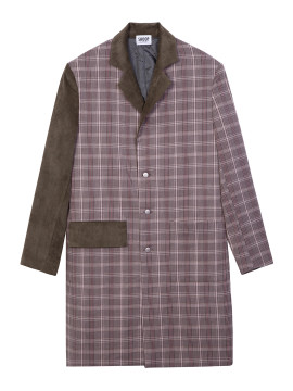 SHOOP-TARTAN-OVERCOAT