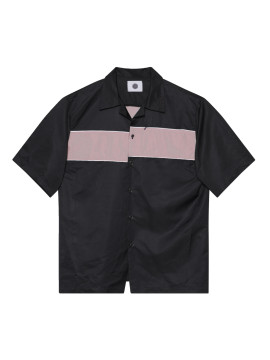 SHOOP Asymmetrical Nylon Shirt
