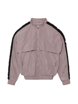 SHOOP Gathering Nude Nylon Jacket