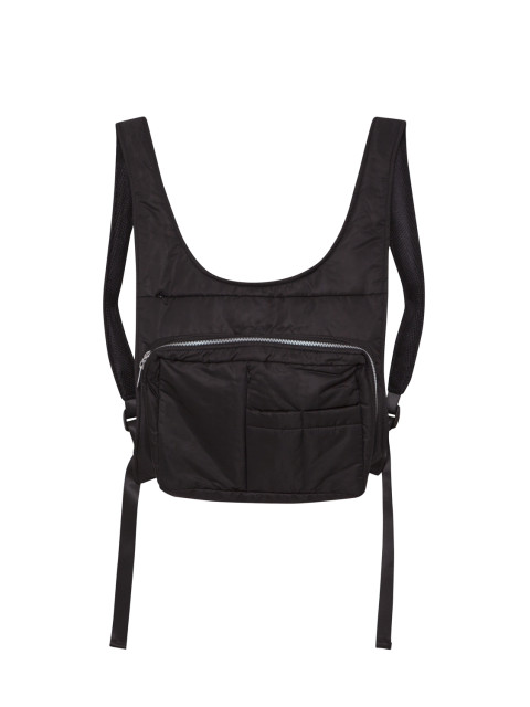 Nylon Backpack Black