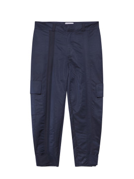 SHOOP Nylon Cargo Pants Navy