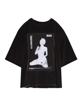 SHOOP Transformation Oversized T-shirt Black