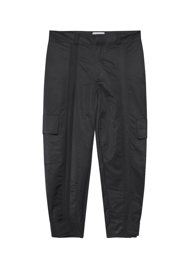 SHOOP Nylon Cargo Pants Black