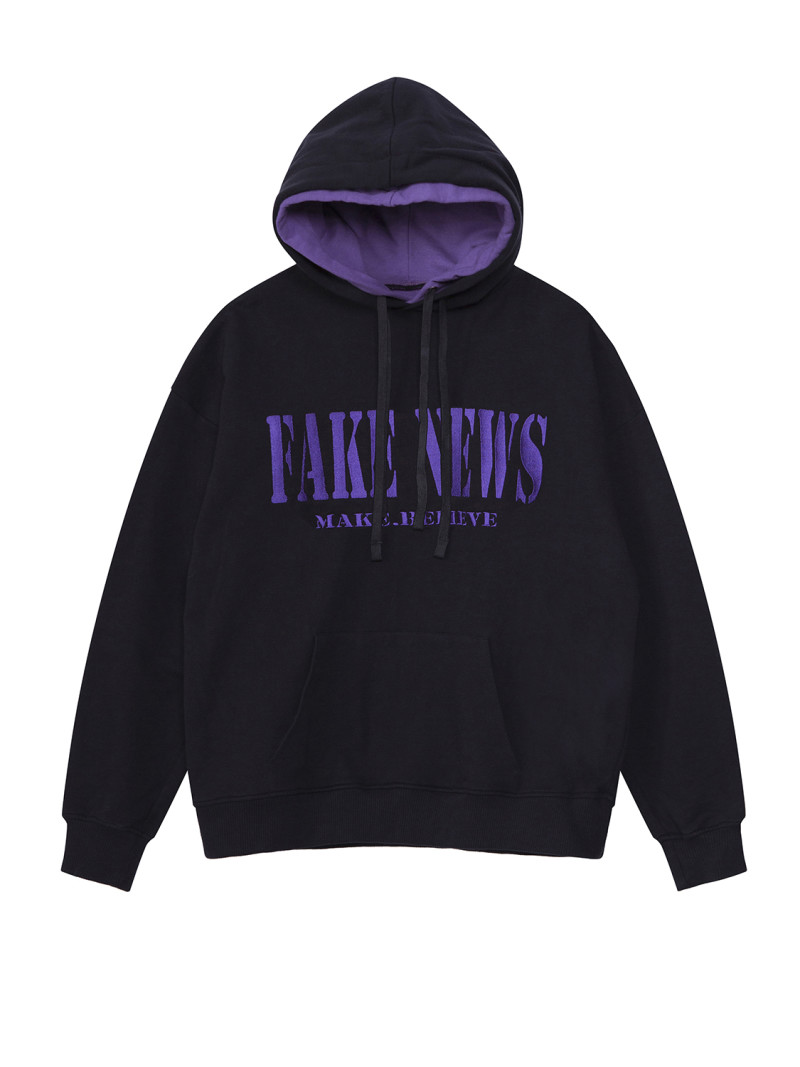 SHOOP FAKE NEWS DOUBLE HOODIE