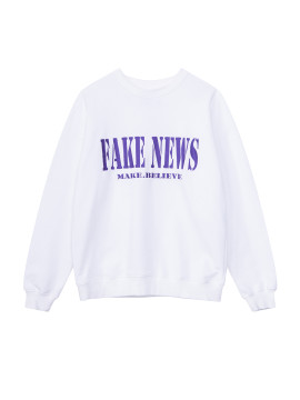 SHOOP FAKE NEWS SWEATSHIRT