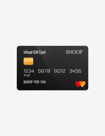 SHOOP gift card